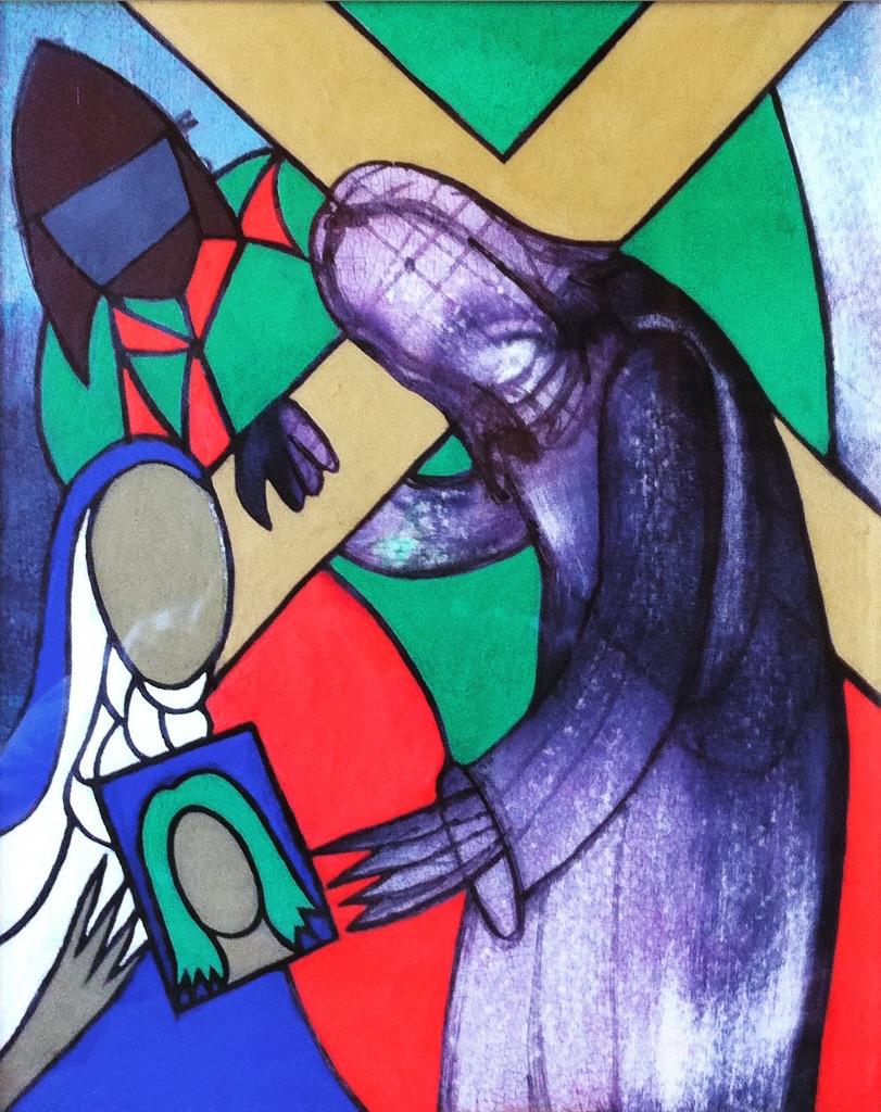 Broj (nepoznat) - Sedam postaja križnog puta - Šesta postaja – Veronika pruža Isus rubac