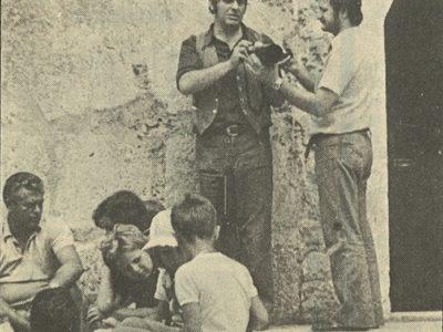 Martinac - fotografija iz novina