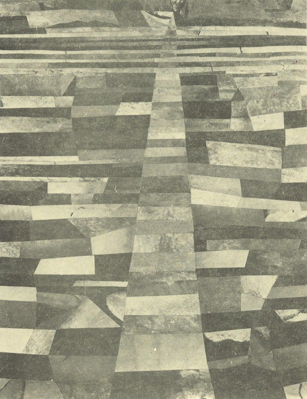 Poslijepodne na putu za Emaus (hommage a Paul Klee et Amadeo Modigliani) (collage, 30.12.1986.)